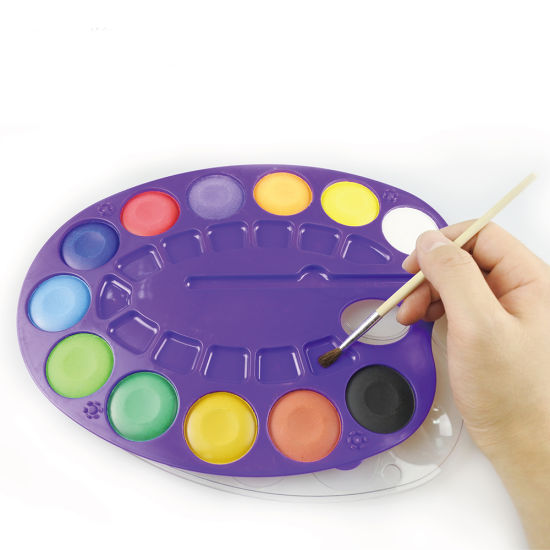 China Dry Paint Set Watercolor Cake Painting Design China