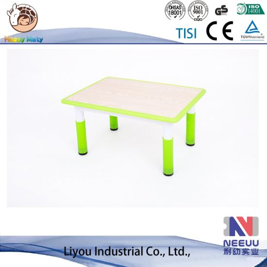 China Kids Furniture Kindergarten Drawing Table Baby Table Indoor