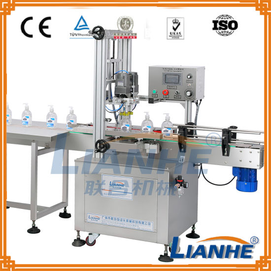 China Liquid Soap Bottle Filling And Capping Machine China