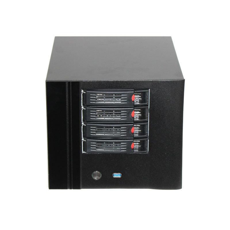 China Network Storage Case Nas Chassis With 4 Hdd Hotswap For 3 5