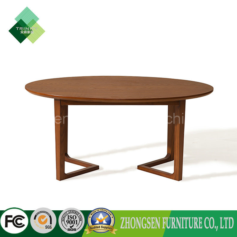 China 2017 Modern Style Solid Wood Oval Coffee Table For Sale