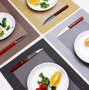 China Pvc Place Mats Heat Insulation Pvc Placemats Stain Kitchen