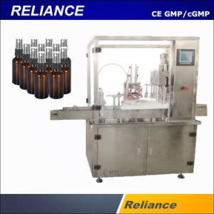 China 60ml 2oz Brown Pet Spray Bottles Filling And Capping Machine