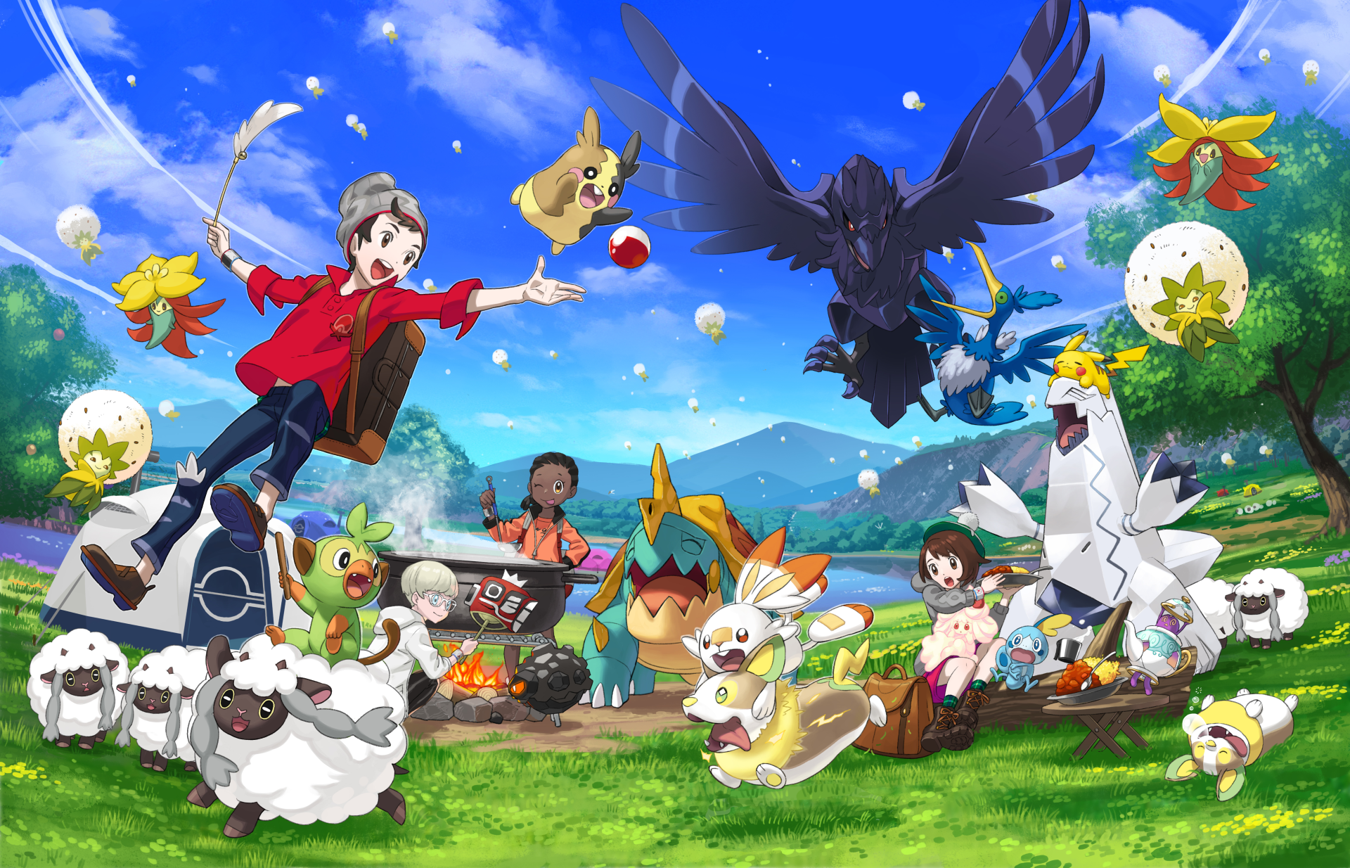 Pokemon Sword And Shield Wallpaper Android