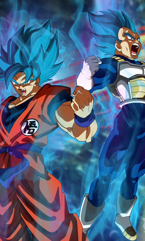 Ultra Hd Goku Y Vegeta Wallpaper 4k