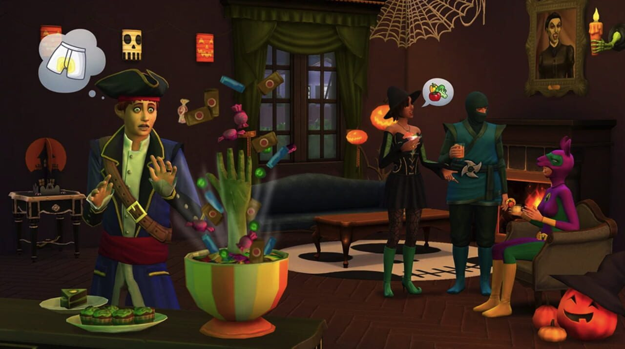 The Sims 4: Spooky Stuff