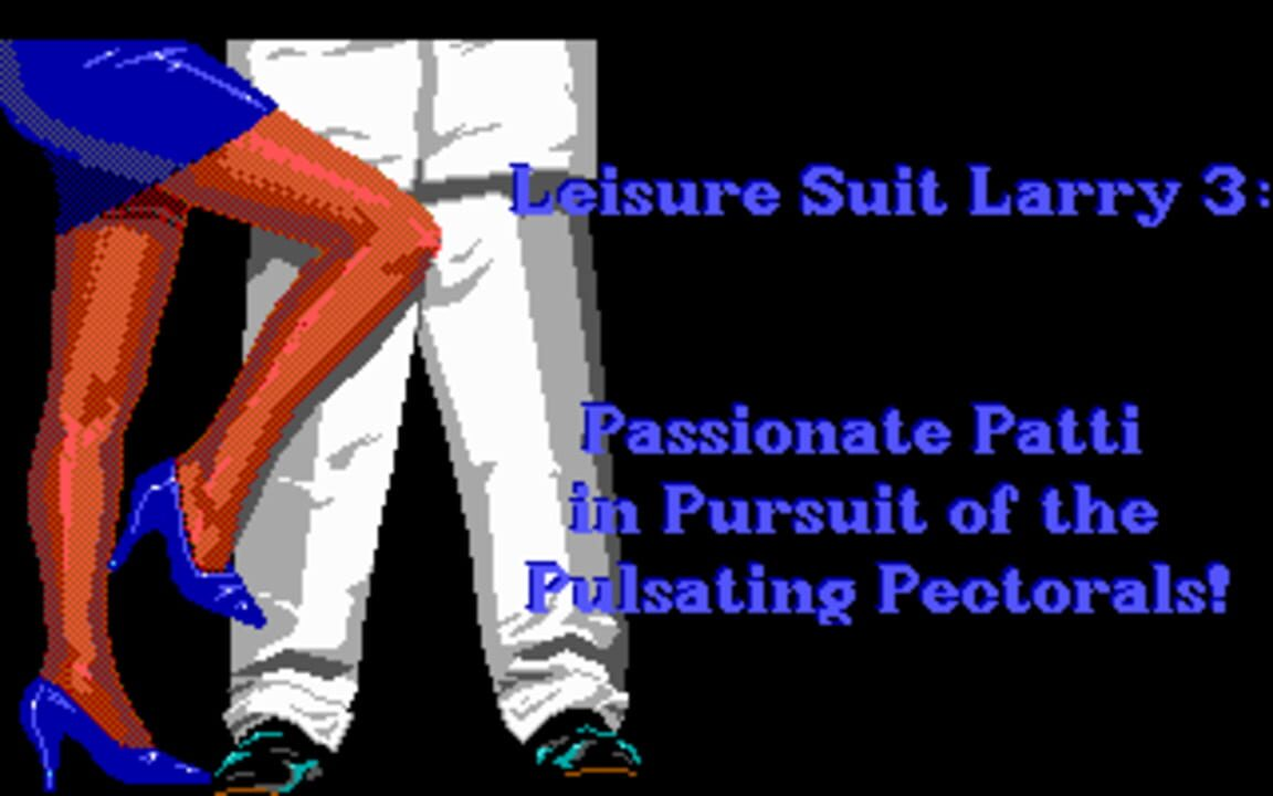 Leisure Suit Larry III: Passionate Patti in Pursuit of the Pulsating Pectoral