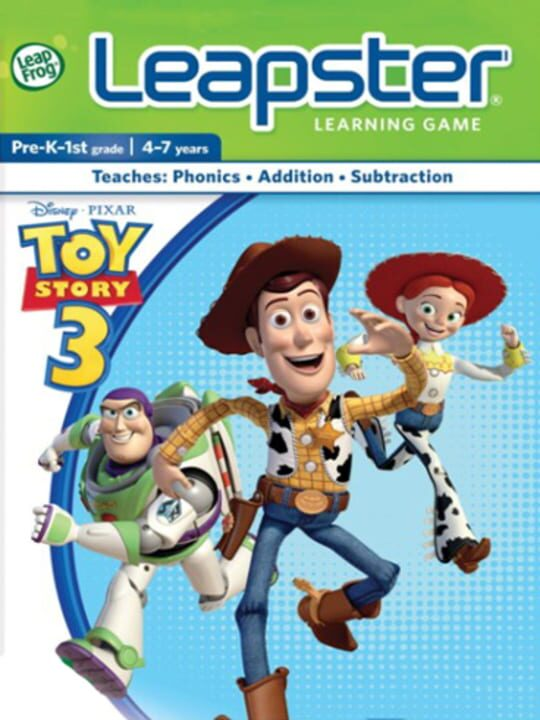 Disney Pixar Toy Story 3 for Leapster