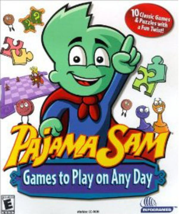 Pajama Sam's Games To Play On Any Day