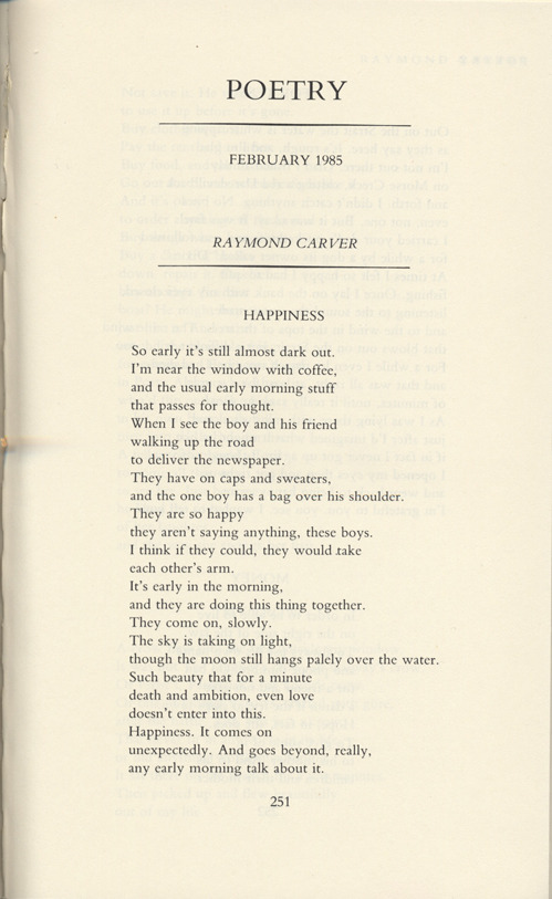 Poems About Happiness 3