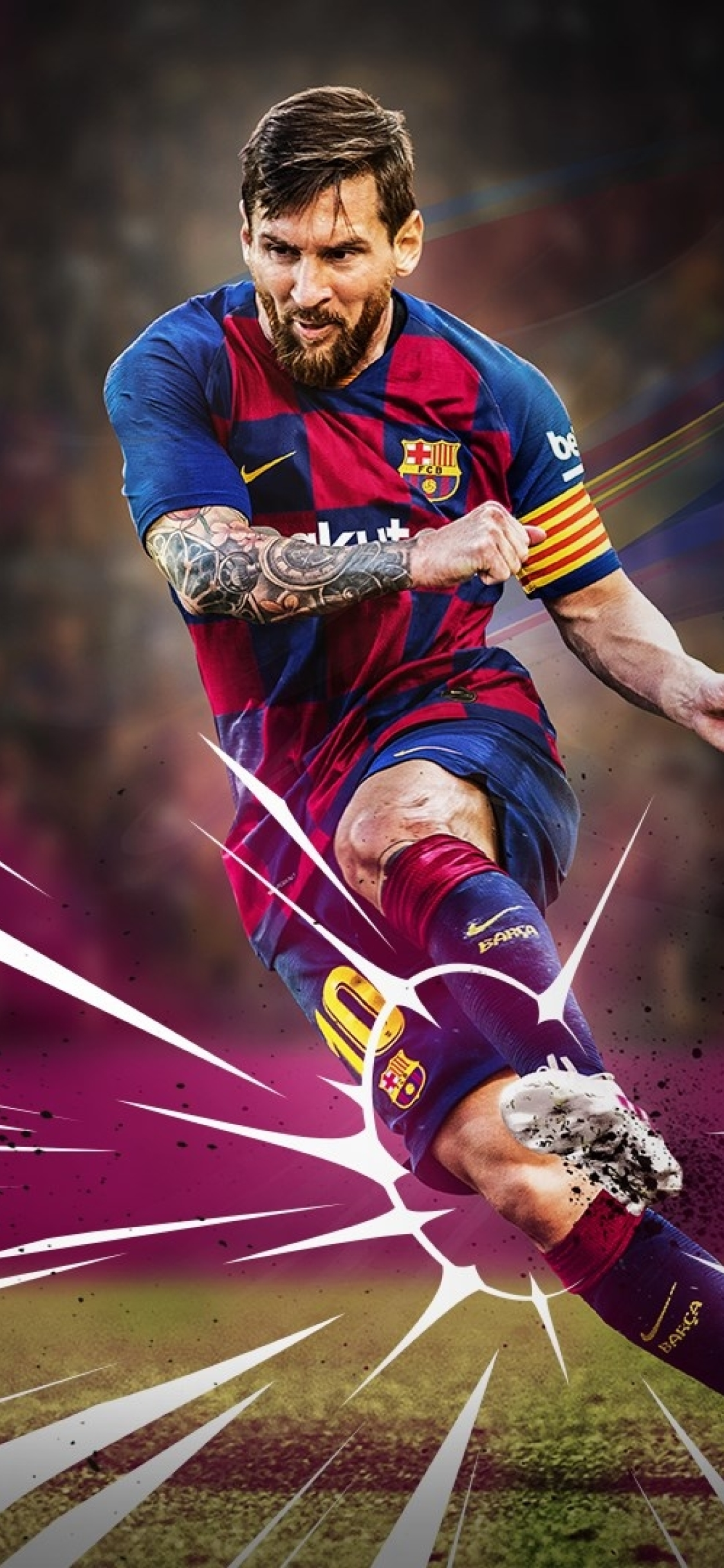 Wallpaper Messi 2020