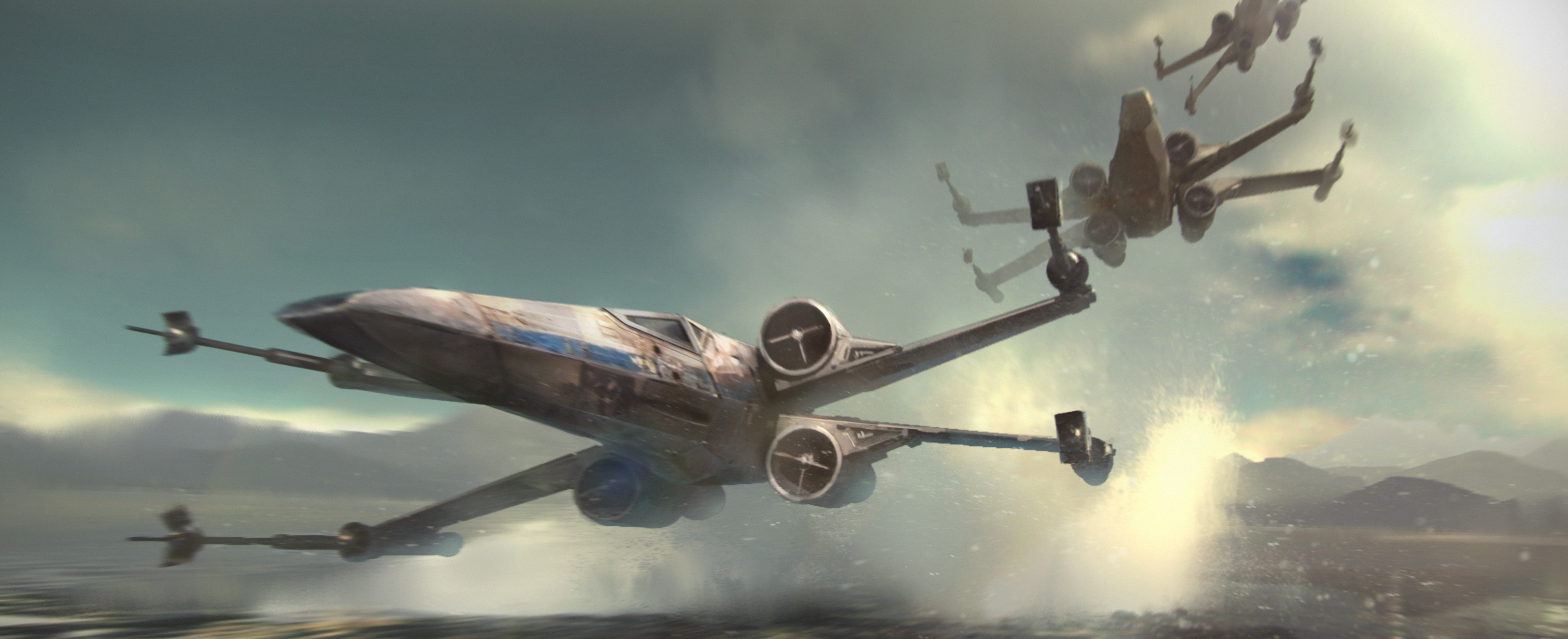 Star Wars X Wing Desktop Wallpaper