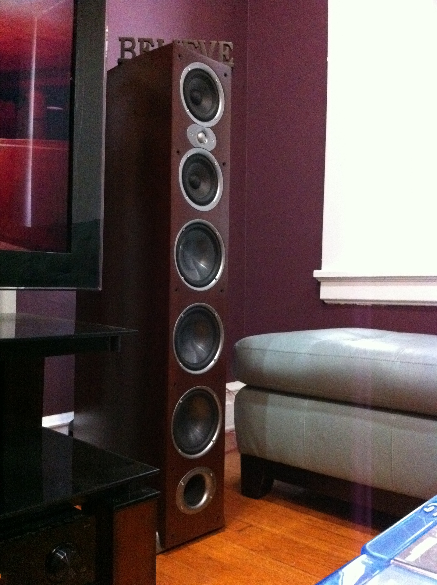 Polk Audio RTi A9 Cherry Wood Veneer