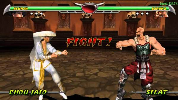 MORTAL KOMBAT UNCHAINED ppsspp