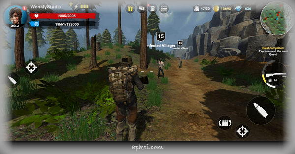 HF3 Action RPG Online Zombie Shooter 2