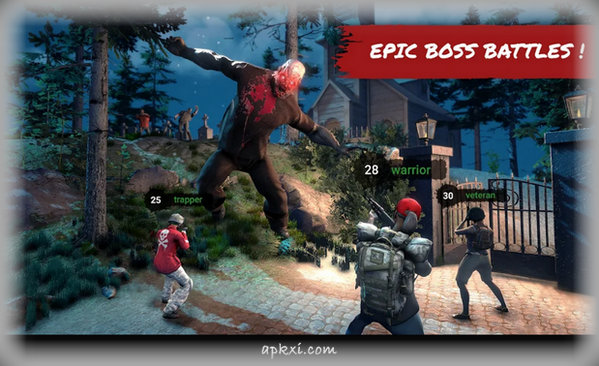 HF3 Action RPG Online Zombie Shooter 4