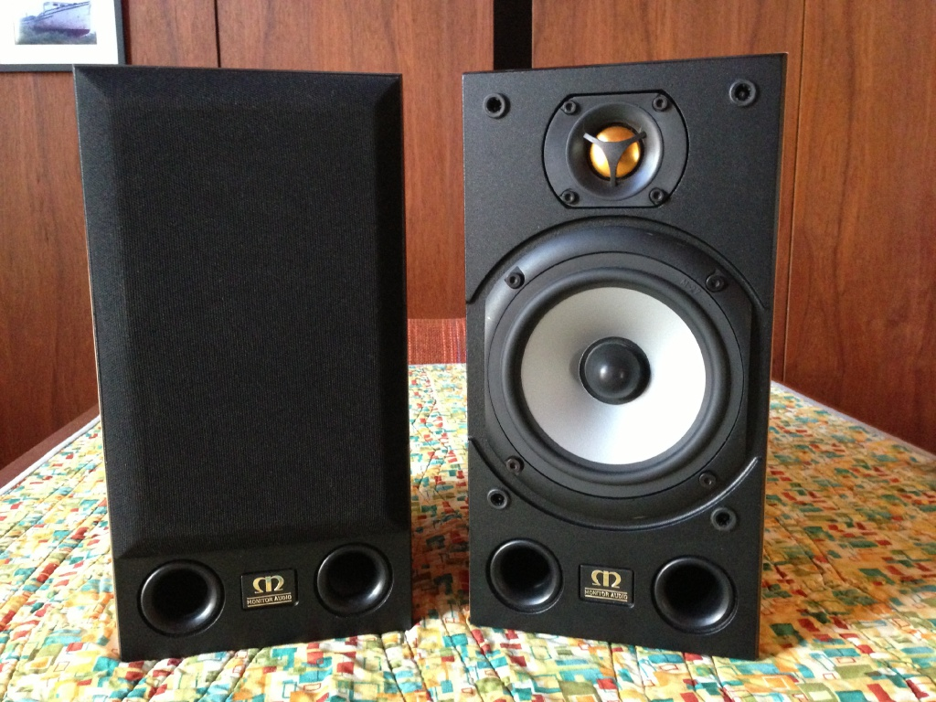 Monitor Audio Bronze 1 Black Oak