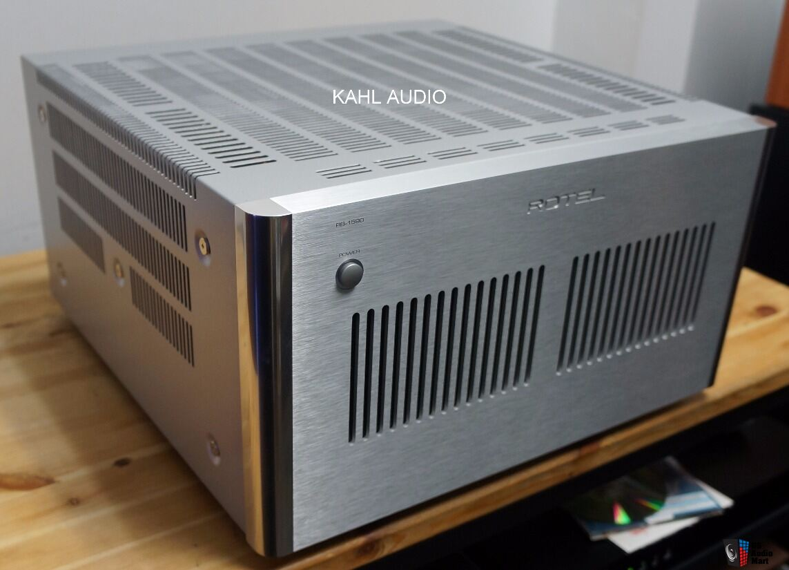 Rotel RB-1590 Silver