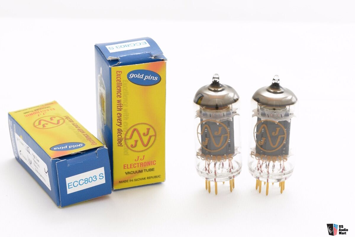JJ Electronic ECC803 S Gold Plated Pins
