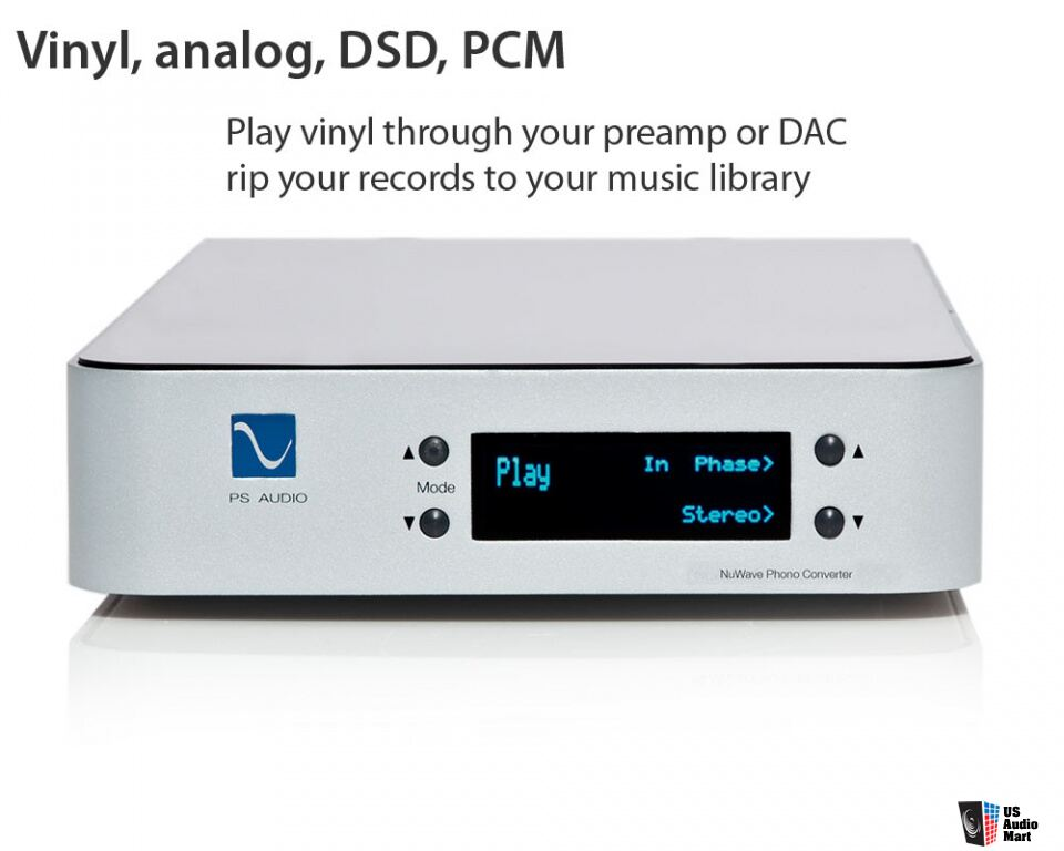 PS Audio NuWave Phono Converter Silver