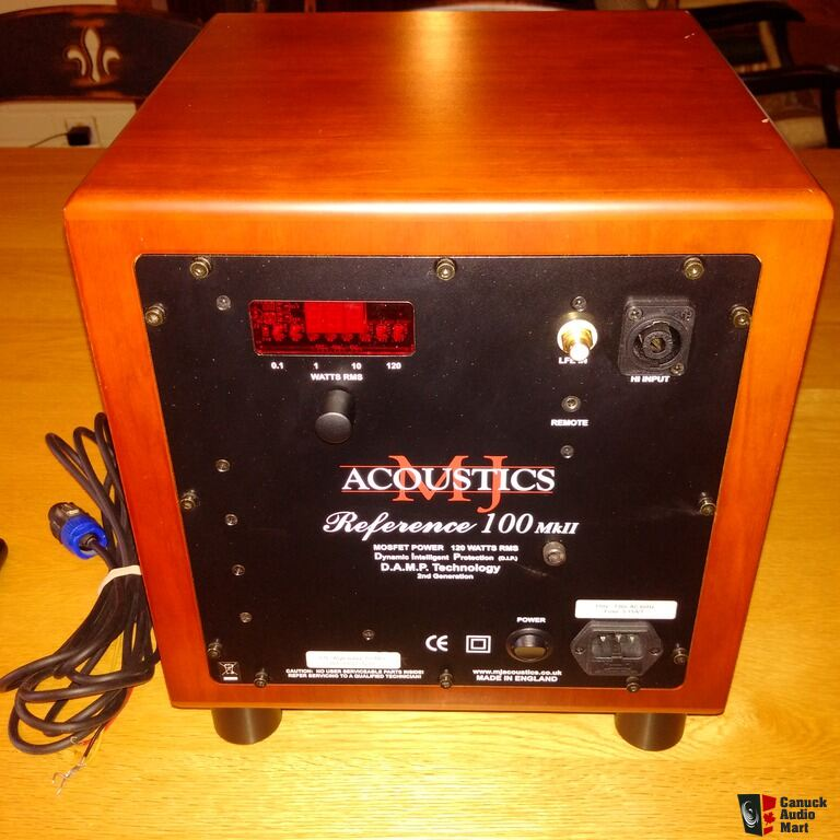 MJ Acoustics Reference 100 MKII Cherry