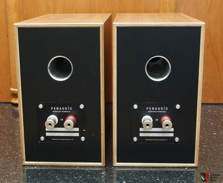 Penaudio Rebel Three Zebrano