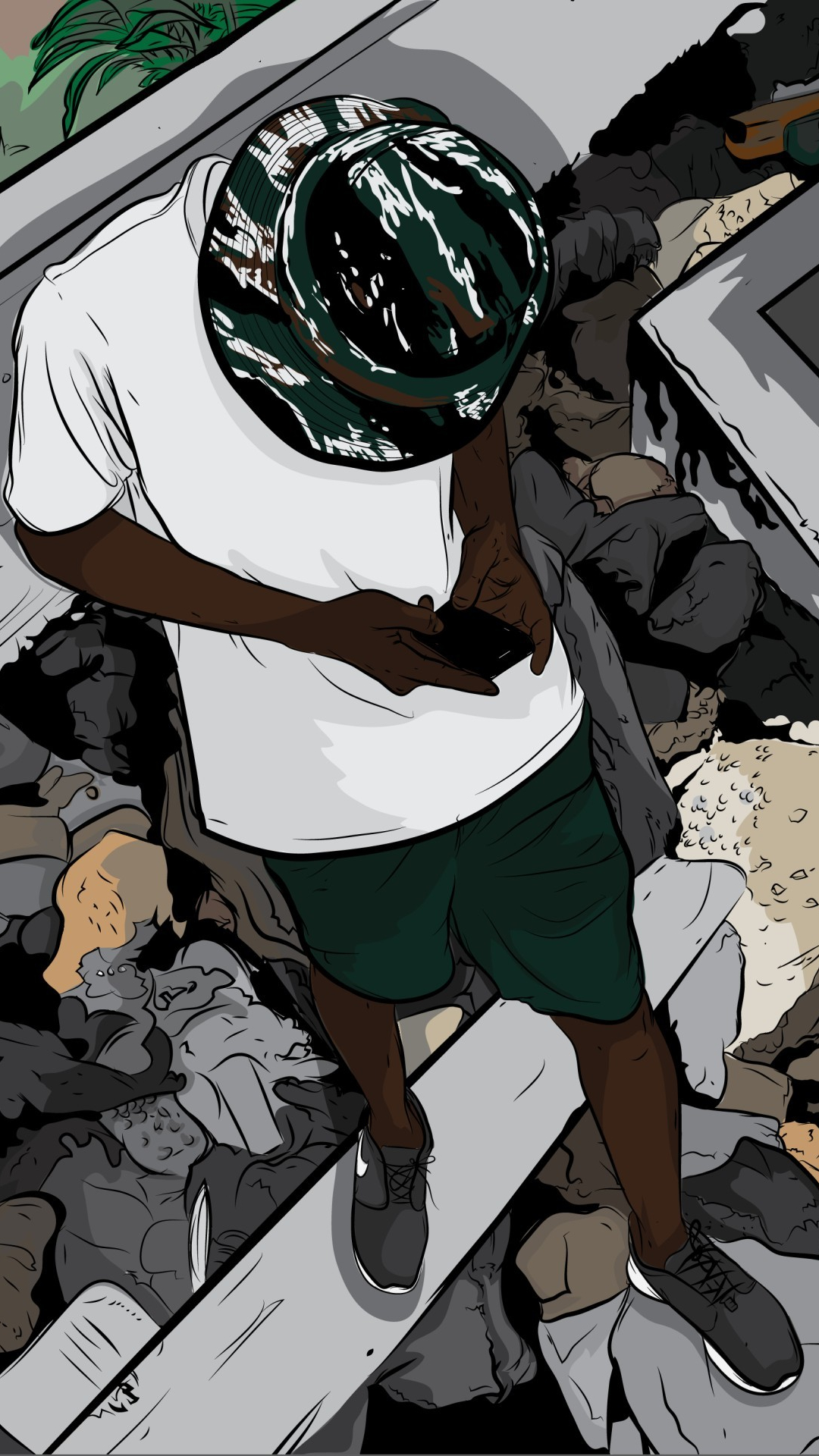 Boondocks Wallpaper Swag Wallpapershit