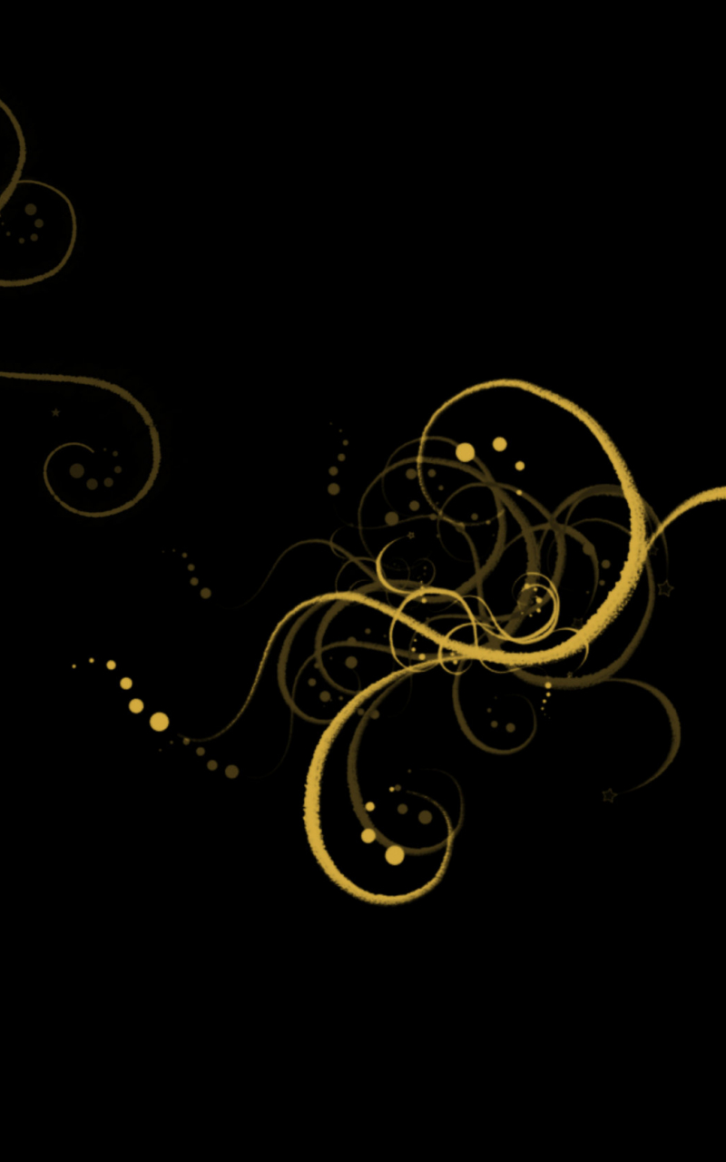 Wallpaper Black Gold Hd Android
