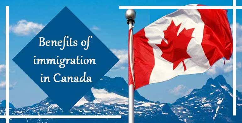 Benefits of immigration in Canada