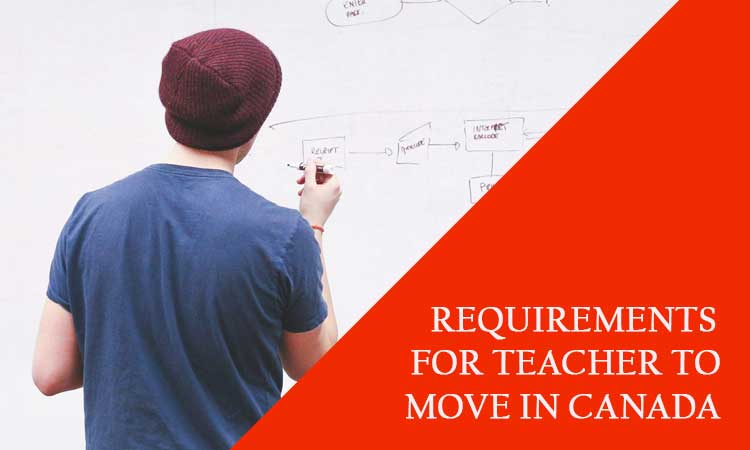 WHAT ARE THE REQUIREMENTS FOR TEACHER TO MOVE IN CANADA?