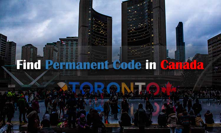 Where Can I Find my Permanent Code in Canada