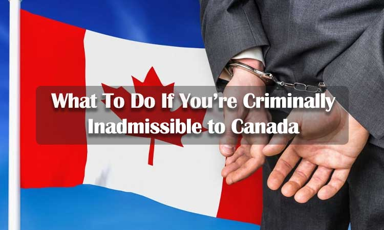 What To Do If You're Criminally Inadmissible to Canada