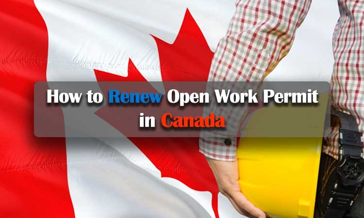 How to Renew Open Work Permit in Canada