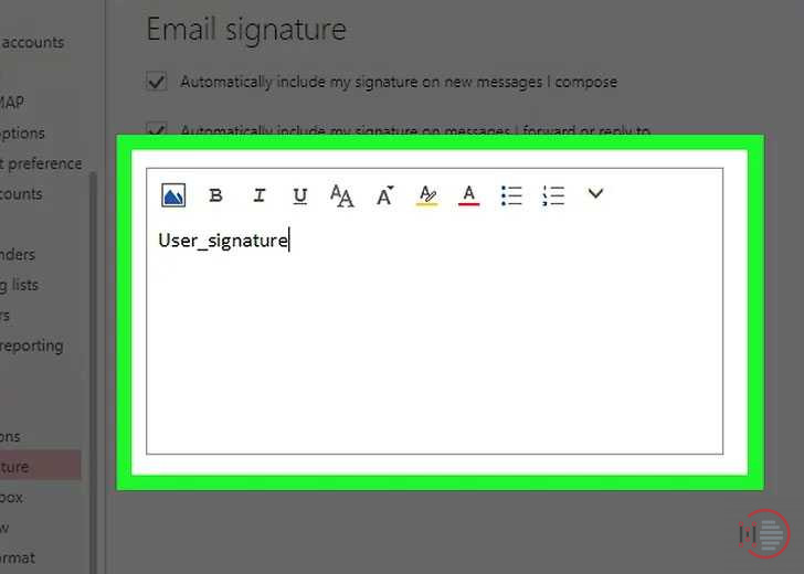 How-to-add-a-signature-in-Outlook-Account-Image-5
