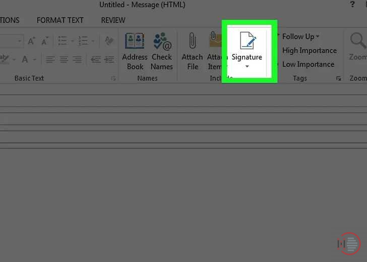 How-to-add-signature-in-Outlook-Account-on-Desktop-image-2