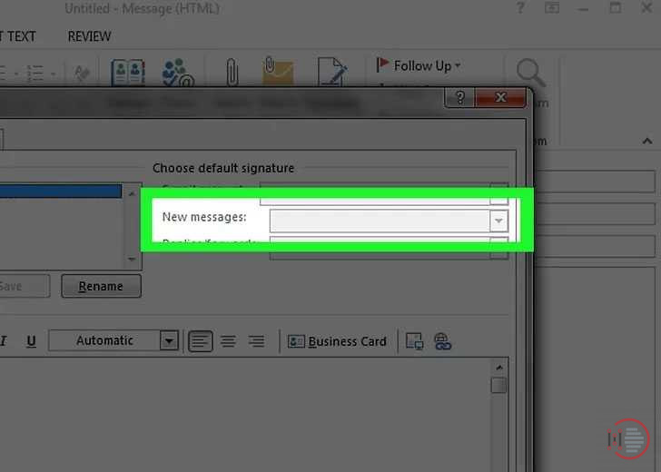 How-to-add-signature-in-Outlook-Account-on-Desktop-image-7