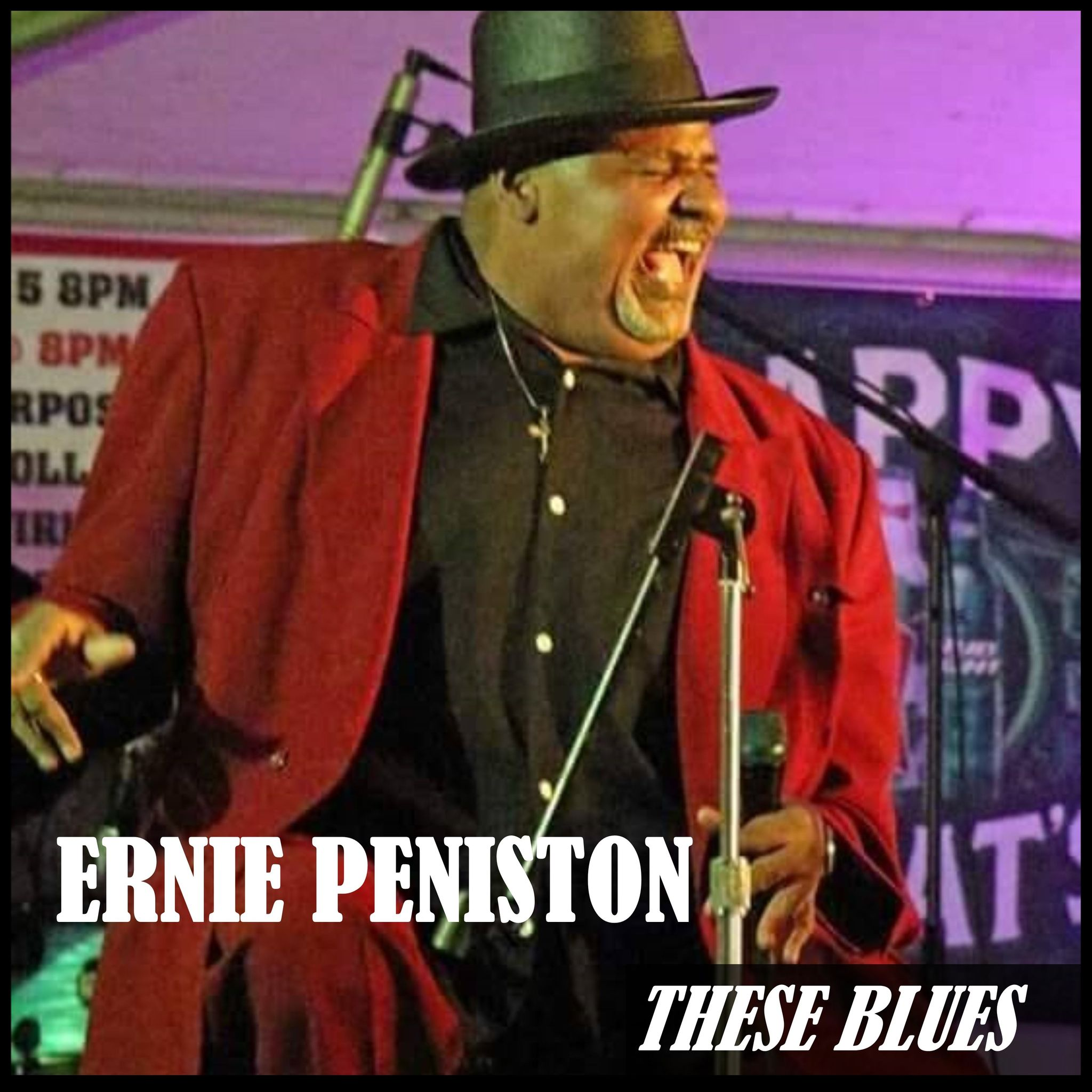 """New Album """"These Blues"""" from Ernie Peniston is a Funky Blues Masterpiece & Shares a Black Iowegian's Perspective on Life and Love"""