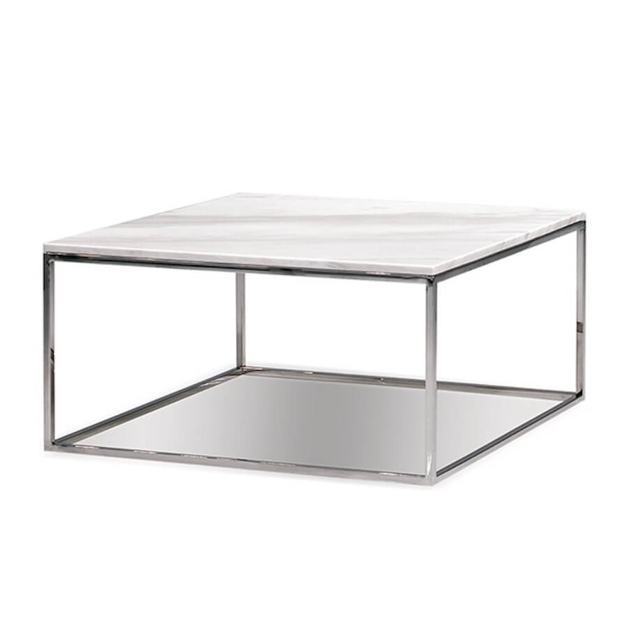 Kube Square Marble Coffee Table Vancouver Modern Furniture