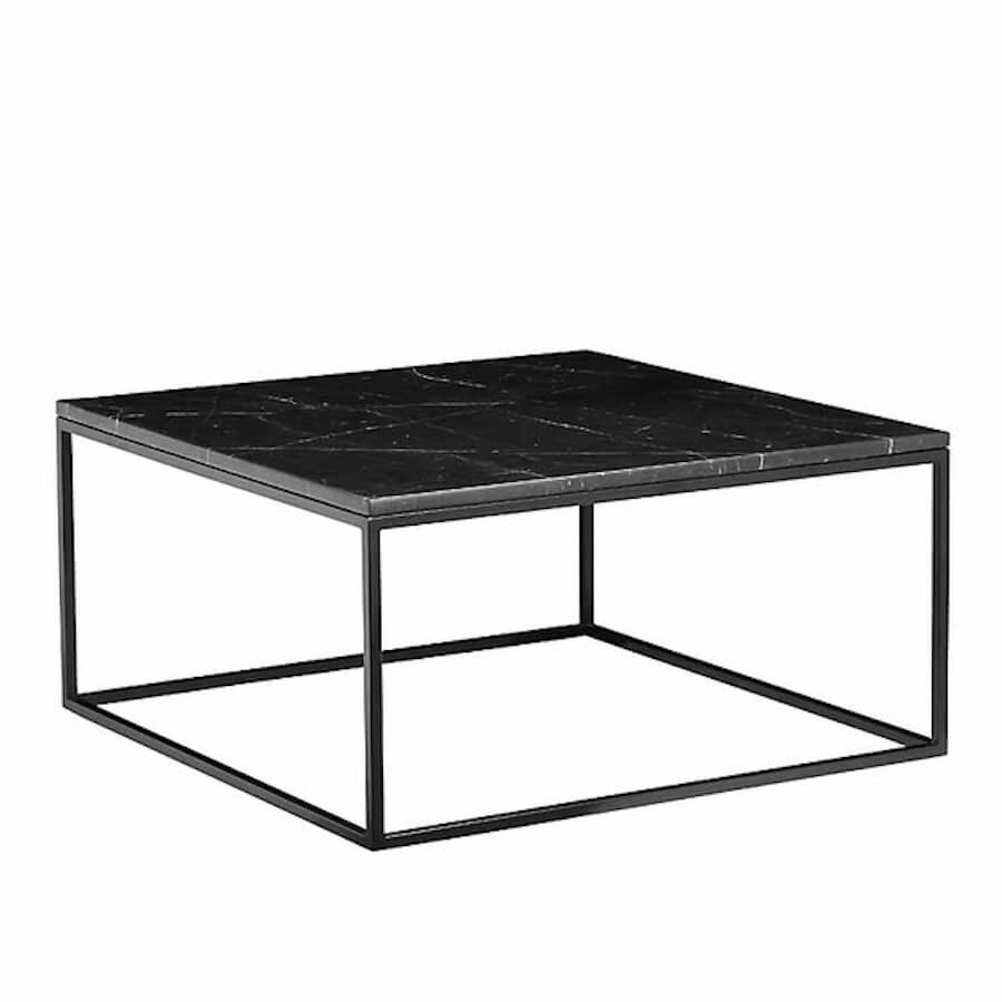 Onix Square Marble Coffee Table Vancouver Modern Furniture