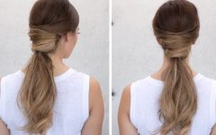 The Criss-cross Ponytail Hairstyles
