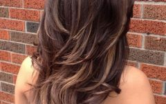 Edgy V-line Layers for Long Hairstyles