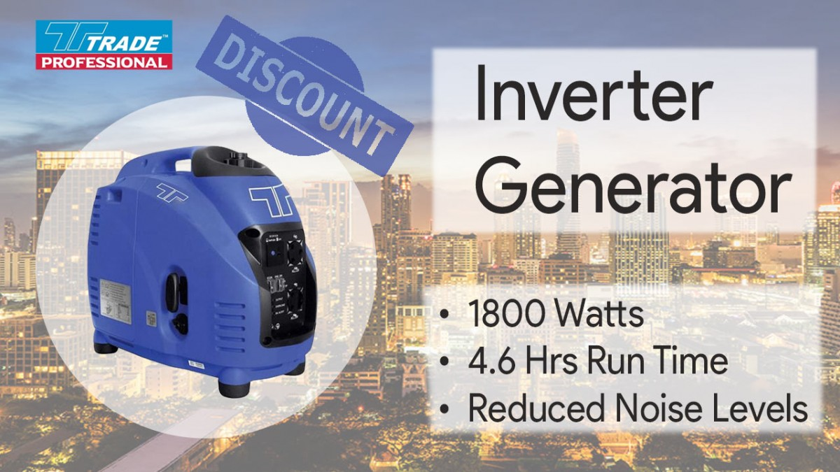 Trade Professional Inverter Generator