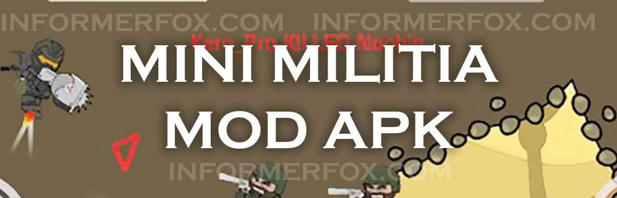Mini Militia Mod APK Hack (Unlimited Ammo, Money, Nitro, Health, and more) Latest Version Free Download for Android