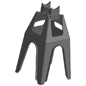 Tall 7.5 ZX - Plastic Chair for Rebar