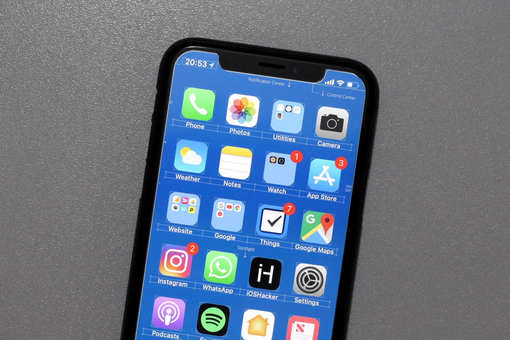 Ios 13 Blueprint Wallpaper