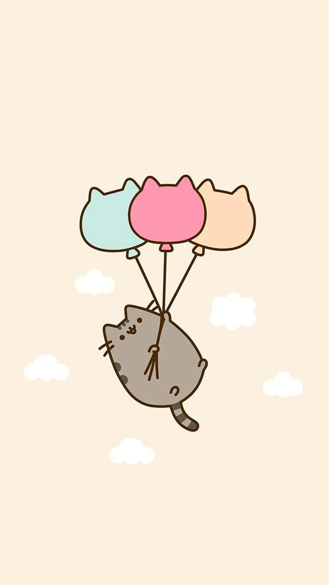 Lock Screen Unicorn Pusheen Wallpaper