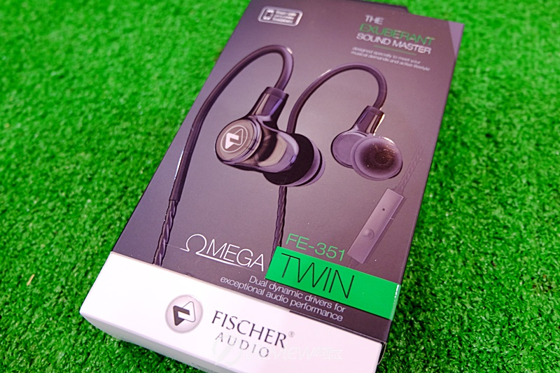Fischer Audio Omega Twin Black