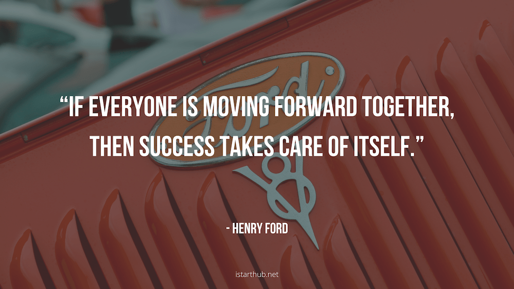 Henry Ford Quotes about teamwork
