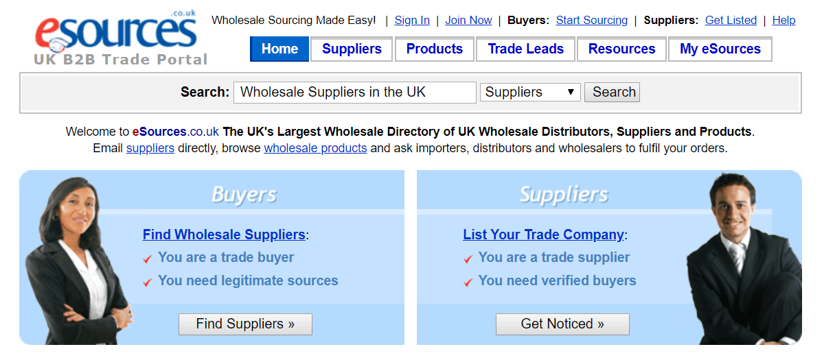 drop shipping suppliers directories