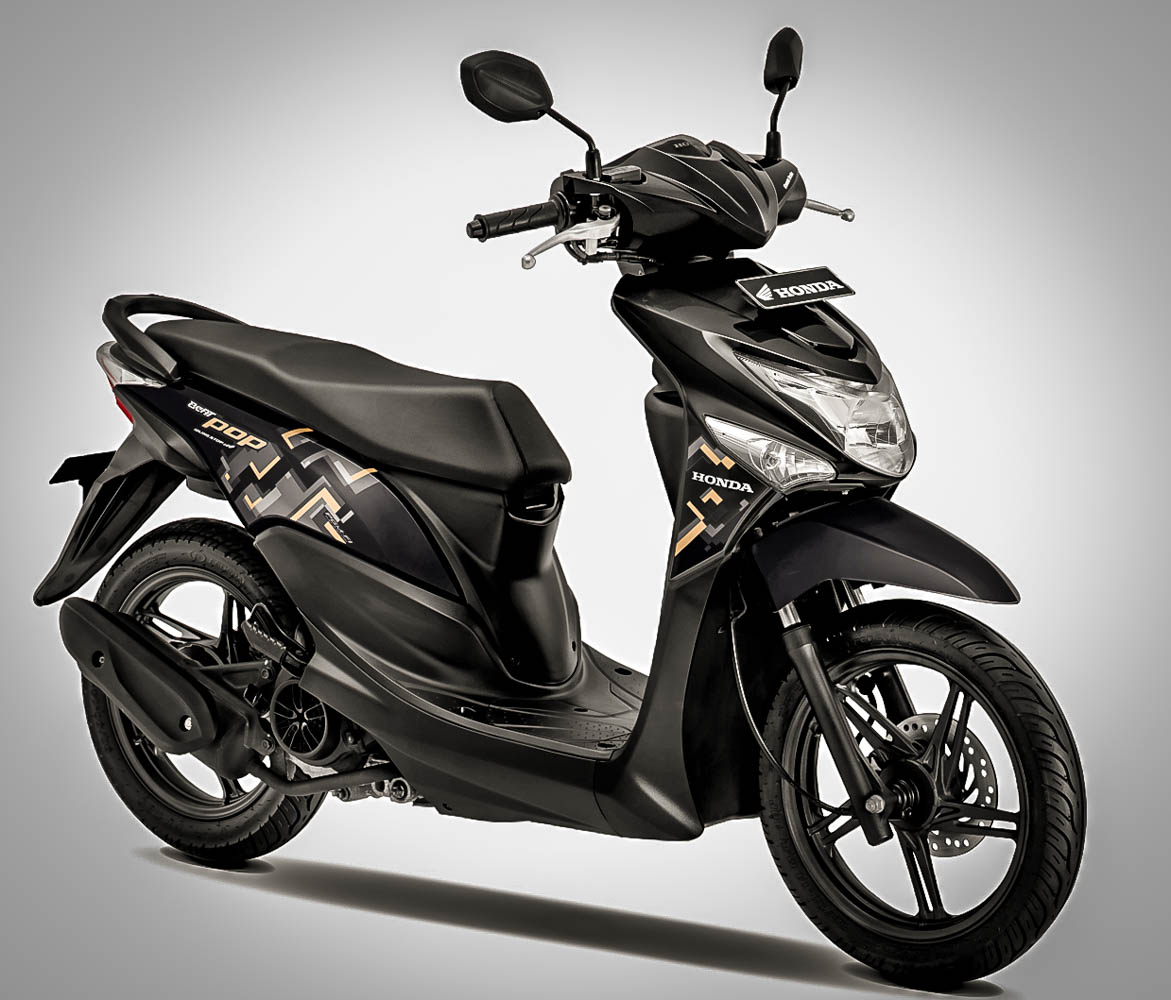 Modifikasi Motor Beat Pop 2019 Mobiliobaru